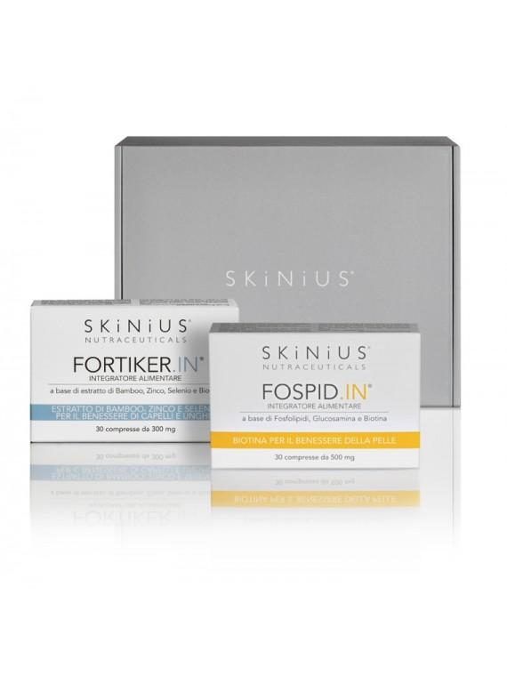 Affrontare il cambio di stagione con pelle, capelli e unghie più forti: prova gli integratori Skinius!