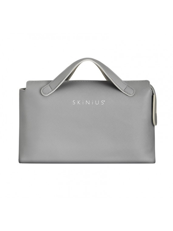 SKINIUS Beauty Bag in ecopelle saffiano