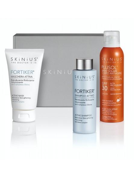 Beauty Box Capelli al Mare: tutto quello che ti serve per proteggere i tuoi capelli da sole, caldo e salsedine.