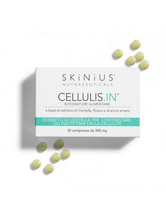 Cellulis.In® is the anti-cellulite supplement of Skinius that stimulates the metabolism