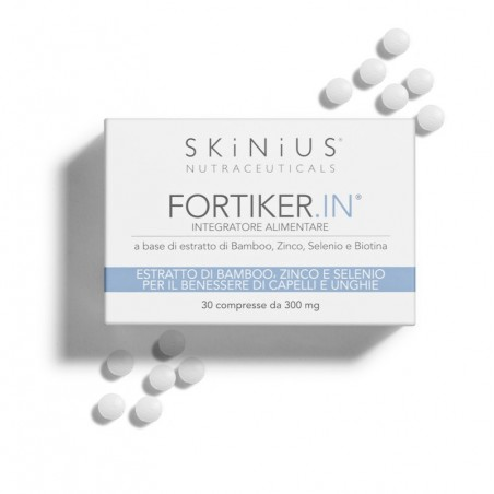 Fortiker.IN is the supplement that ensures proper nourishment of hair and nail, fortifying them