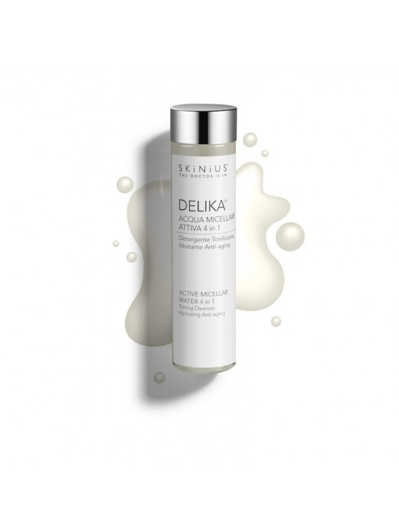 Delika®, the micellar water from Skinius that does not need to be rinsed, suitable for sensitive skin