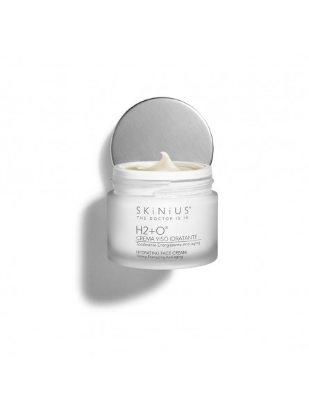 H2 + O, the anti-aging face cream that fights skin aging and protects the skin