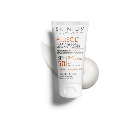 PLUSOL Face Sun Cream Antiaging SPF50