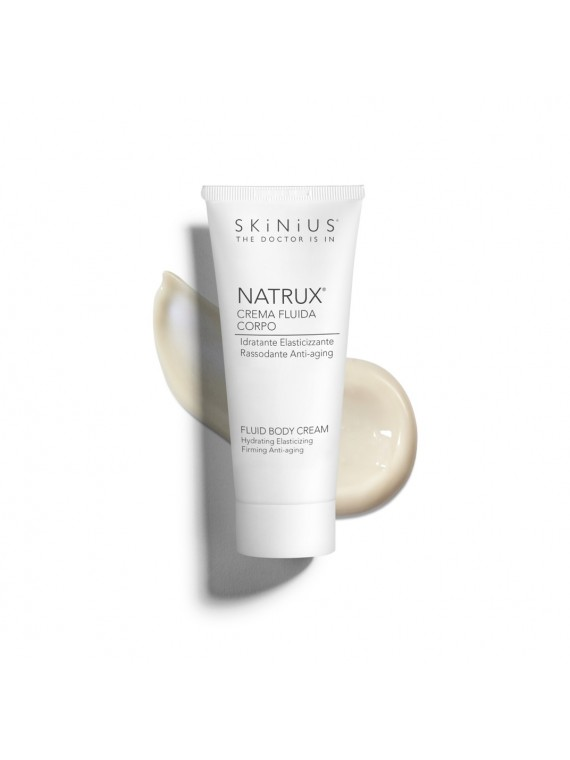 Natrux is Skinius body cream that smoothes, moisturizes and protects your skin