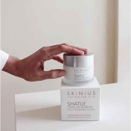 Shatui crema viso nutriente con fispidina di Skinius