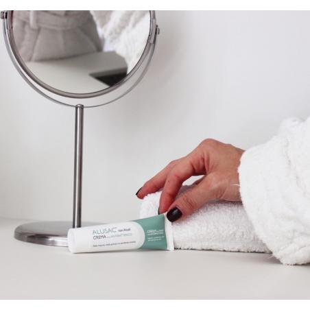ALUSAC Crema è ideale anche a supporto di terapie prescritte dallo specialista.