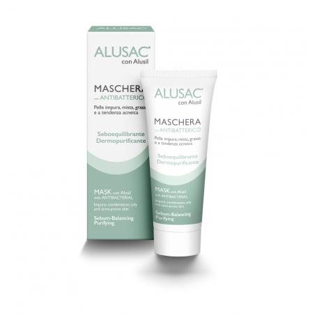 ALUSAC® Maschera è ideale per pelle impura, mista, grassa e a tendenza acneica per viso e corpo.