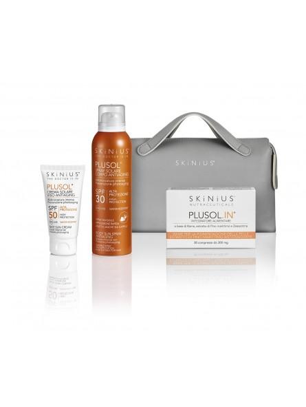 Favorire l'abbronzatura proteggendosi anche dall'azione dei raggi UV? Scopri come con i prodotti specifici di Skinius!