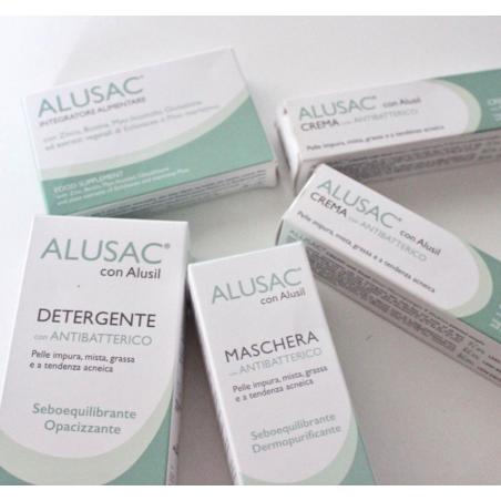 Alusa complete kit il trattamento anti acne con Alusil.