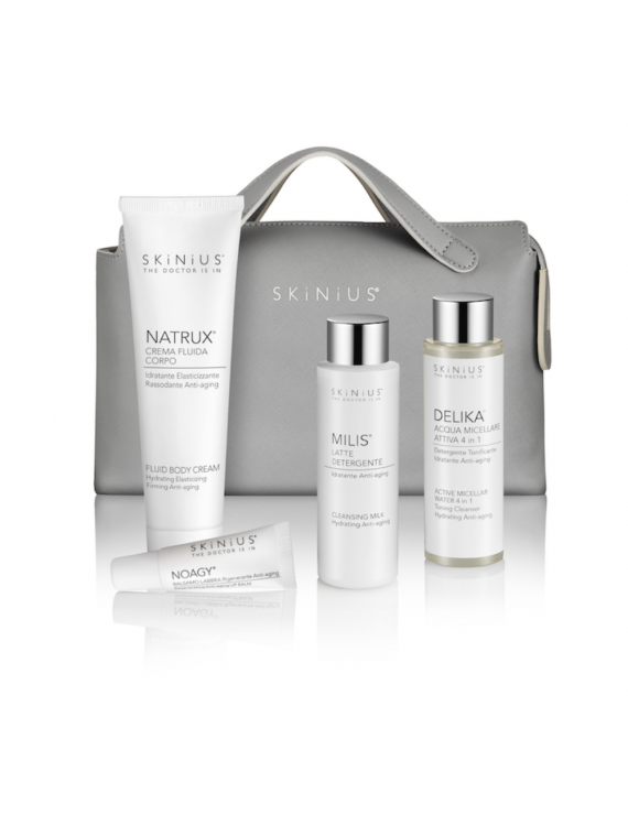 Skinius travel Kit: la beauty routine completa da portare sempre con te in viaggio!