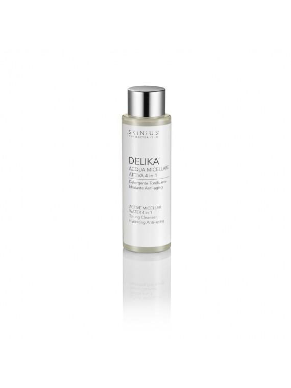 Delika Mini® è il formato adatto al viaggio (100 ml) della tua acqua micellare preferito