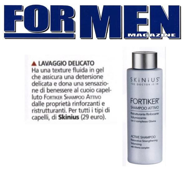 opinioni fortiker shampoo skinius - for men