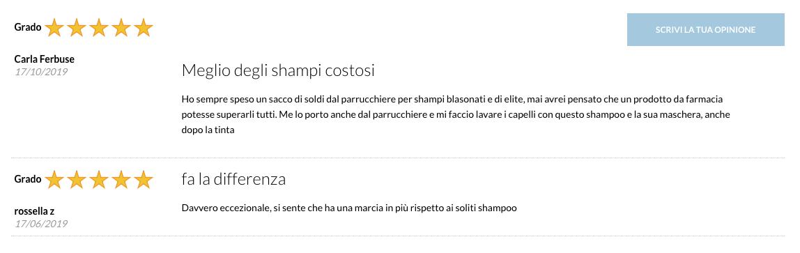 Opinioni e recensioni di FORTIKER shampoo