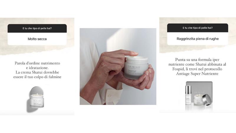Crema viso nutriente antiaging Skinius
