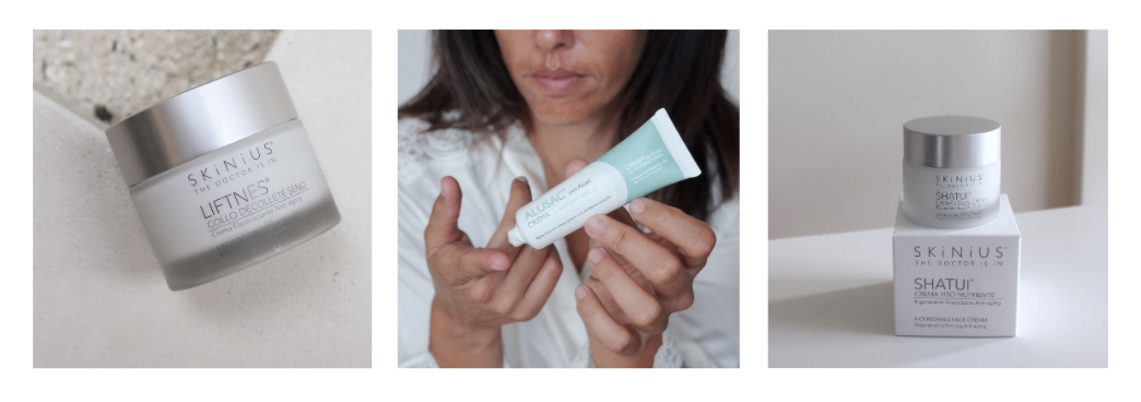 Crema viso per pelle in menopausa Skinius