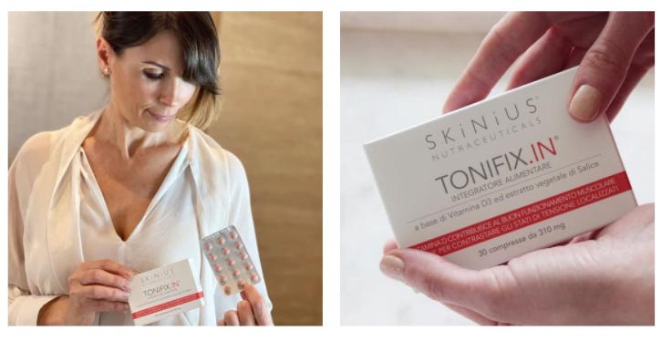 prevenire invecchiamento del volto con tonifix.in integratore alimentare skinius
