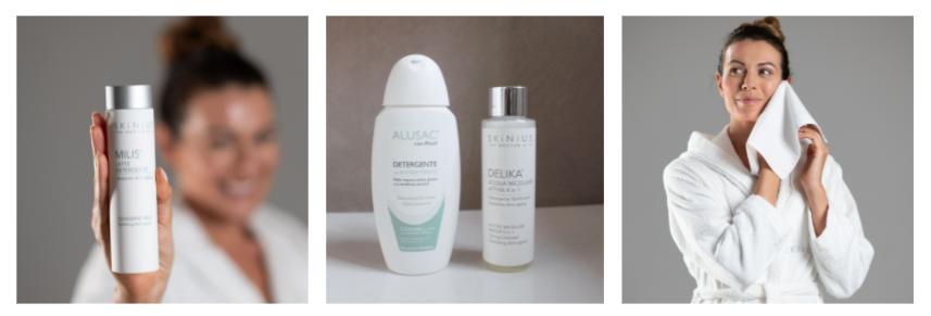 Detergente viso per pelle sensibile Skinius