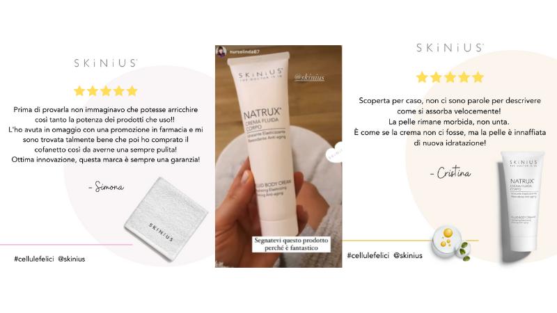 recensioni prodotti corpo skinius