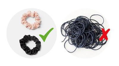 Elastici per capelli fini: quali scegliere?