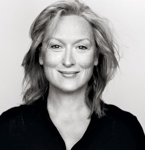 Meryl Streep, pelle chiara e siero antiage