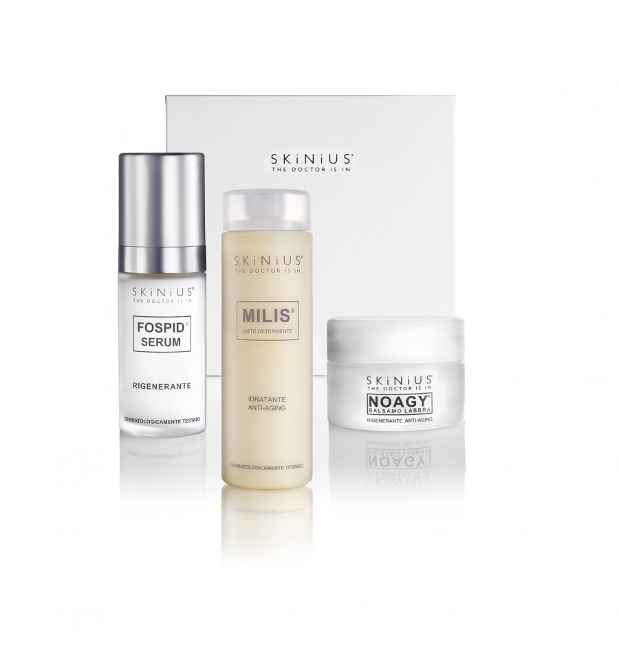 Prova lo Starter Kit di Skinius, la nuova Beauty Box che raccoglie le top choice Skinius per una pelle indimenticabile.